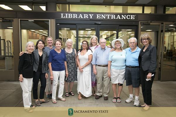Library Breezeway Reception