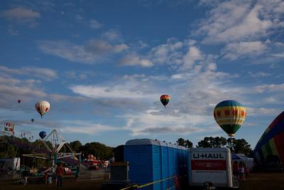 Hot Air Ballon show 2013