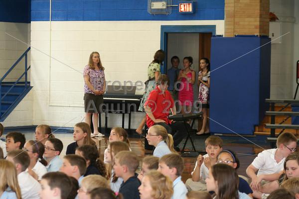 6th grade graduation . 5.26.10