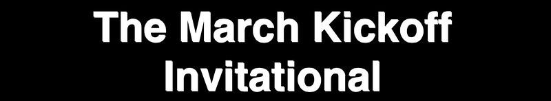 2015 March Kickoff
