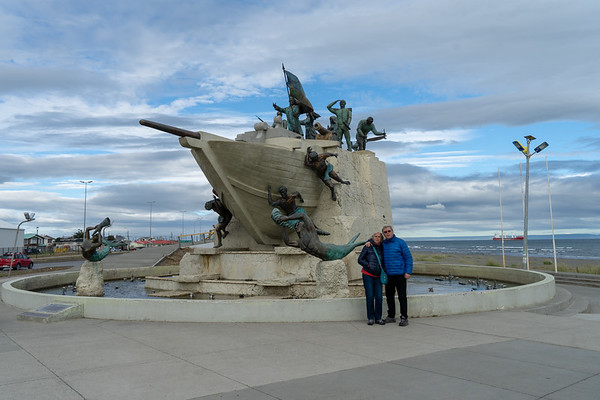 Punta Arenas, Patagonia, Chile - January, 2019