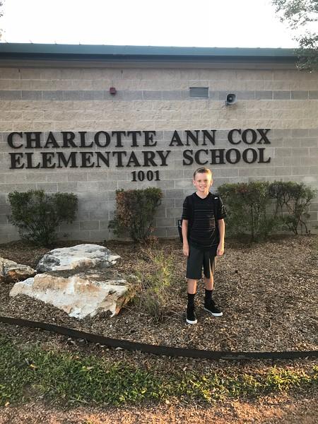 Zach | 4th | Cox Elementary School