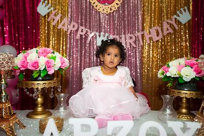 Arzoyi's 1st birthday celebration