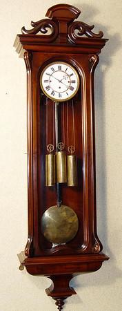 VR-336 - Month-duration Serpentine Austrian Granne-Sonnerie striking Vienna Regulator