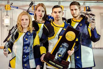 33236 Ginny Thrasher Milica Babic Jean-Pierre Lucas Noah Barker Statler College Rifle Team Members March 2017