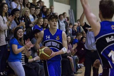 Mount Temple vs Pobalscoil Iosolde Leinster School Basketball Finals