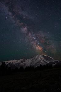 Milky Way at Mt Rainier July 2021