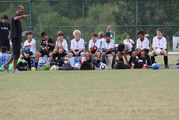 U12 Boys vs LSA 9-29-2012