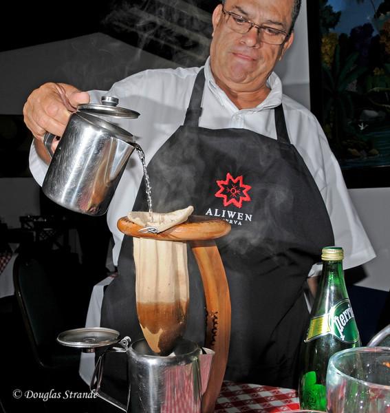SanJose:  Making Coffee