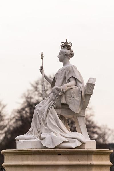 Kensington Gardens - Queen Victoria