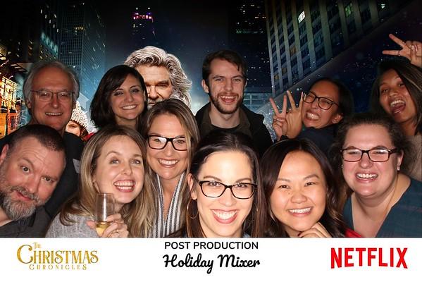 Netflix Post Production Holiday Mixer (Green Screen Booth)