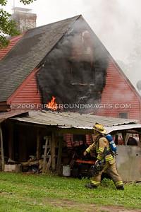 Walnut Tree Hill Rd. Fire (Shelton, CT) 7/23/09