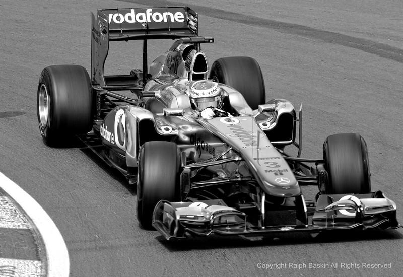 Lewis Hamilton at the Hairpin