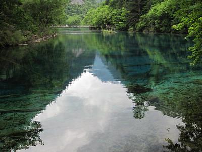 June 2011: Jiuzhaigou National Park in Sichuan Province
