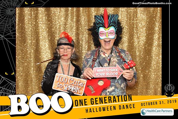 One Generation Halloween  Dance 2019