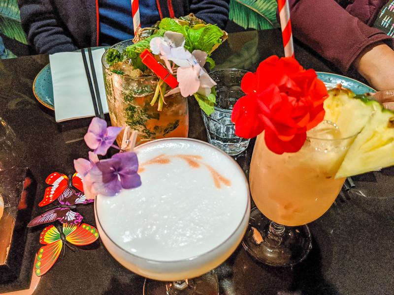 Drinks at Blue Kanu