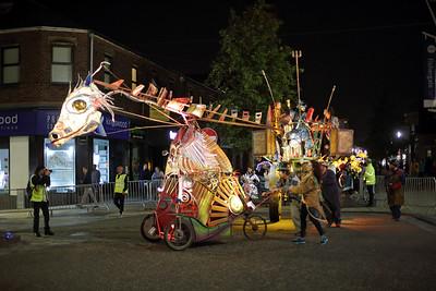 Preston Torchlight Procession