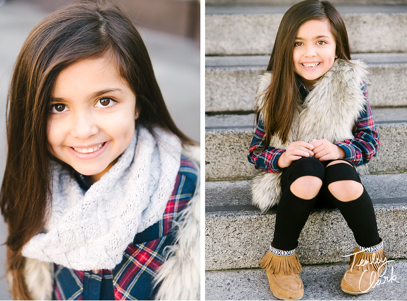 Kids model headshot portfolio session in San Jose by Tenley Clark Photography.