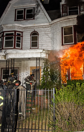 Newark, NJ 257 Mt. Prospect Ave vacant dwelling fire