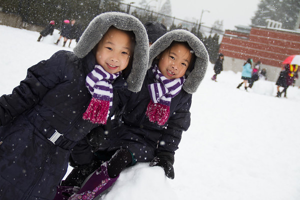 Jr. School making the most of the snow