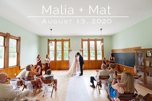 Malia + Mat