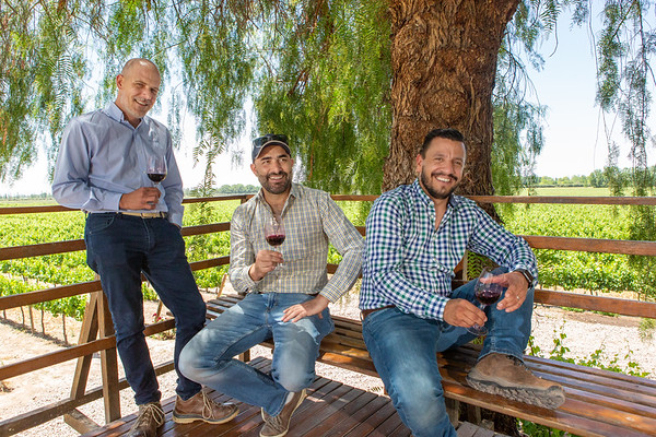 Winemakers and executives