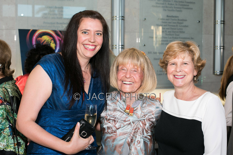 Photo Credit: Jacek Photo. Caption: L-R: Talya Lerman, Helane Hertz, Marcy Koch at The Cultural Council of Palm Beach County 2014 Muse Awards at The Kravis Center in West Palm Beach, Fla. on March 13, 2014.
