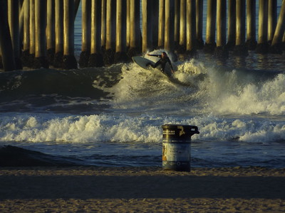 1/30/20 * DAILY SURFING PHOTOS * H.B. PIER