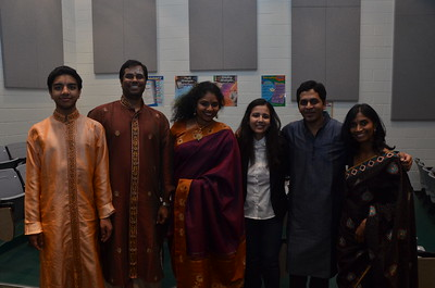 With Indian Raga Team