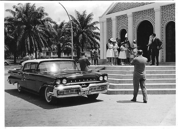 Dundo 29 Marco 1964. MARIA JOÃO ALHO E FRANCISCO SIMMONS