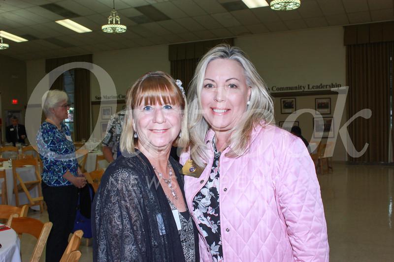 Marlene Evans and Gretchen Shepherd Romey