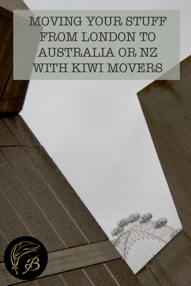 Moving stuff from London to Australia was a breeze, thanks to the help of Kiwi Movers. I'd use them again or just not buy so much needless crap next time.