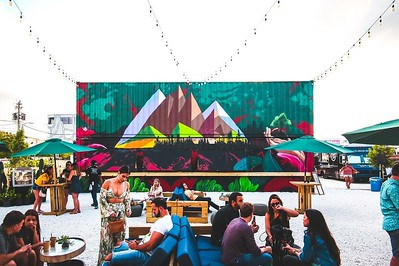 Shipping Container Food Halls