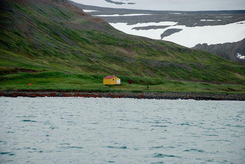 Aðalvík - Látrar. Neyðarskýlið. 2013.