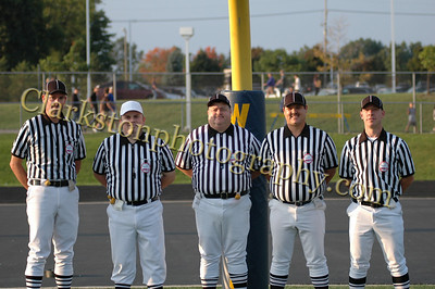 Clarkston vs Troy Referees