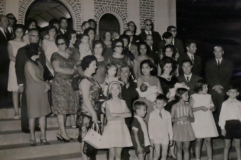 Dundo - 1966, dois baptizados