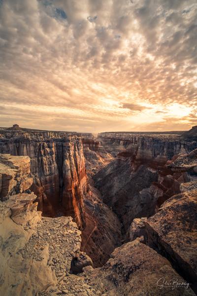Coal Mine Canyon Sunrise VII