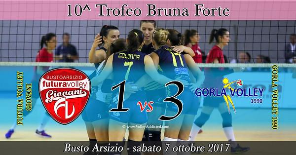10^ Trofeo Bruna Forte: Futura Volley Giovani - Gorla Volley