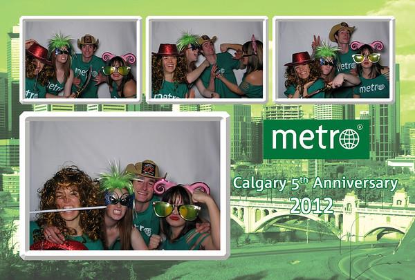 Metro News Calgary 5th Anniversary