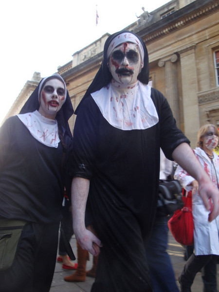 And nuns.