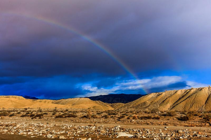 Anza-Borrego Desert Rainbow