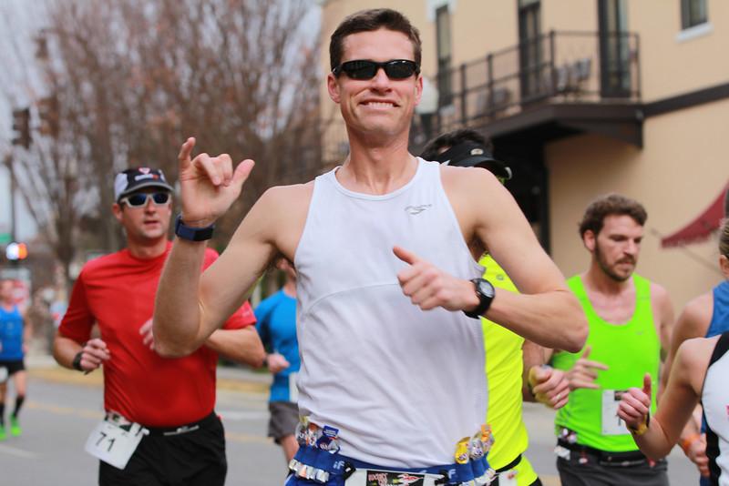 2012 Rocket City Marathon Mile 3