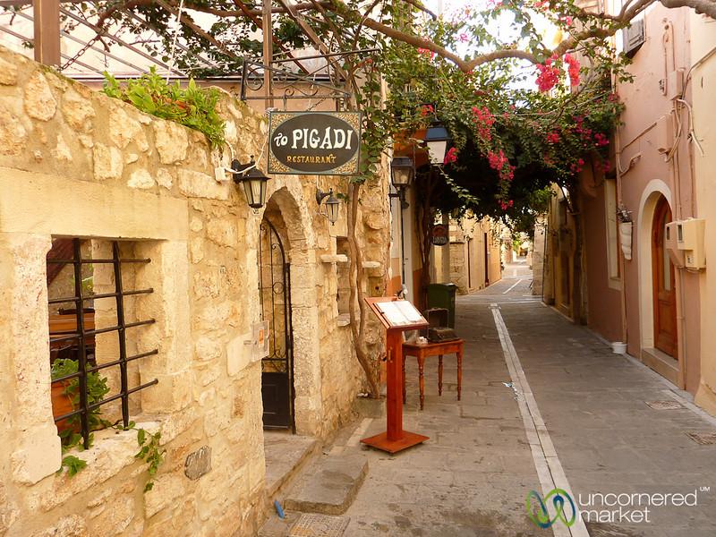 Rethymnon Streets - Crete