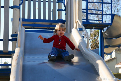 The joy of sliding