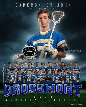 Grossmont Lacrosse 2019