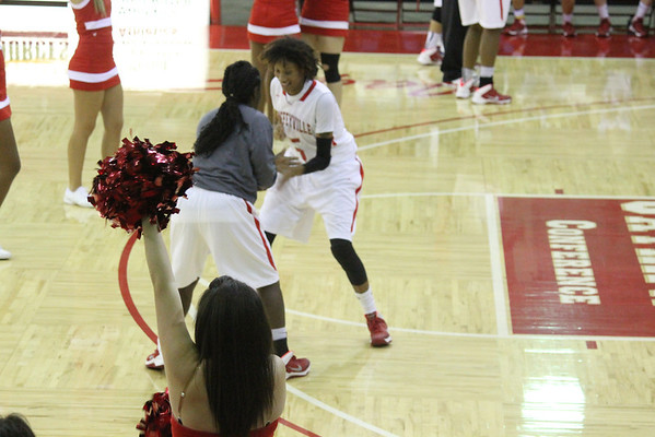 2013-2014 Women's Basketball Game Action