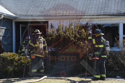 Westbury F.D. Working Fire   Fourth Ave. 3/2/21
