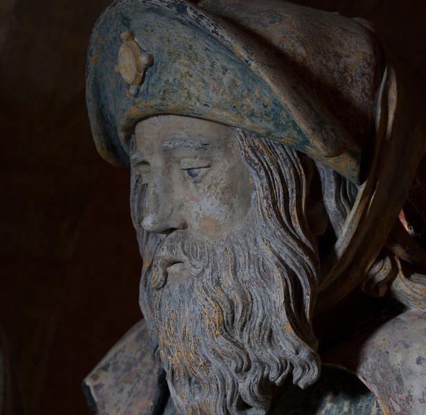 Chaource, Eglise Saint-Jean-Baptiste -  The Entombment -  Joserph of Arimathia