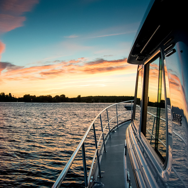 Thousand Islands sunset