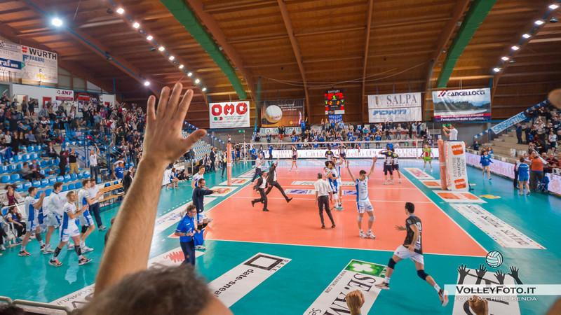 Vivi Altotevere San Giustino - Andreoli Latina   Ottavi di finale Play-Off gara 2 - Campionato Italiano di Volley Maschile Serie A1 [2012/13]